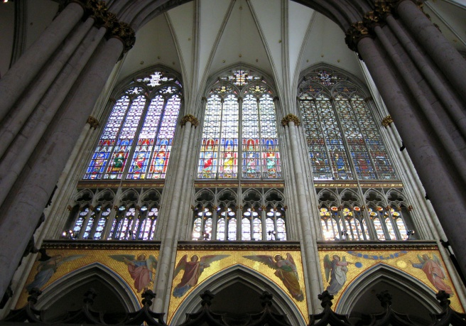 More from the Koln Dom -- stained glass