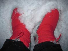 The Tromp Queen's boots