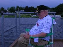 Dad and his lake