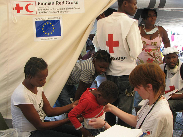 Haiti by IFRC, Creative Commons flickr