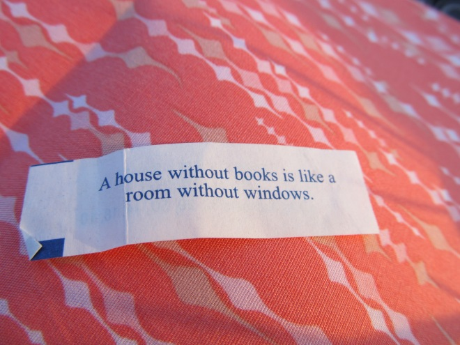 A house without books