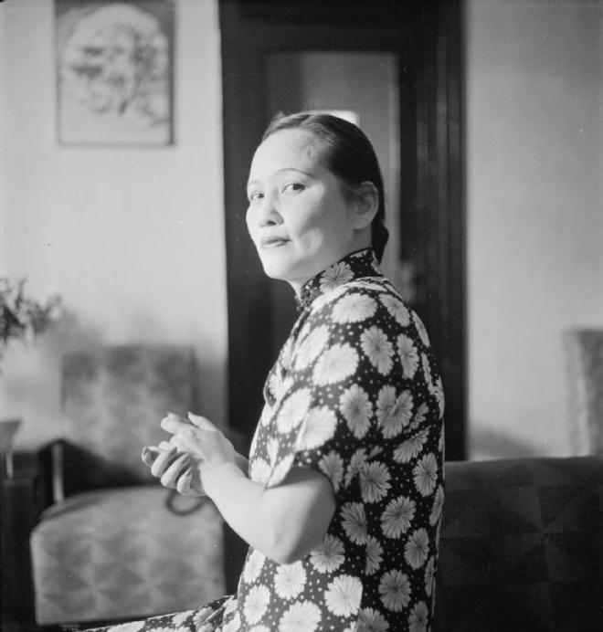 Madame Sun Yat Sen, by Cecil Beaton public domain