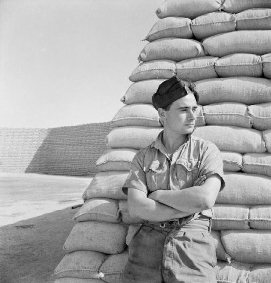 RAF soldier, Western Desert 1942