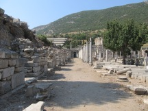 Another view of the ancient marketplace that was near the amphitheater.