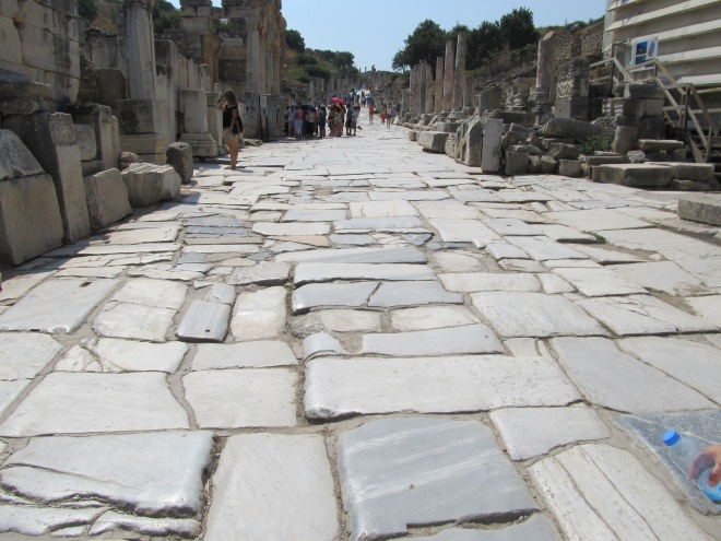 Road in Ephesus