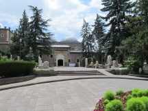 The Anadolu Muzesi courtyard