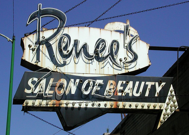 Renee's Salon of Beauty -- Flickr CC image by S Jones