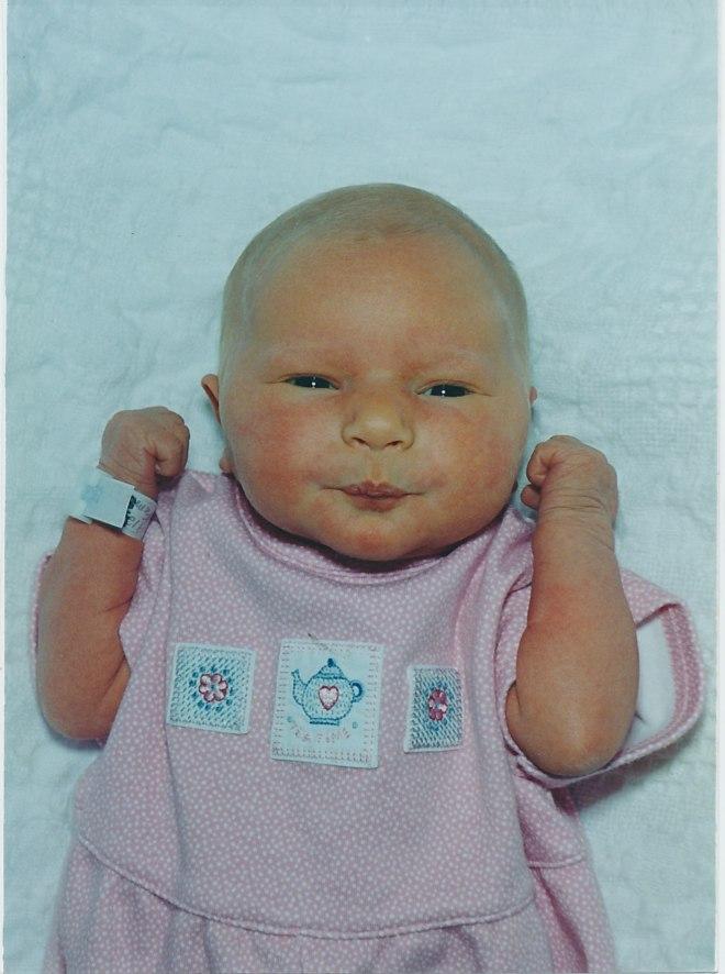 Sarah Grace, 3 days old