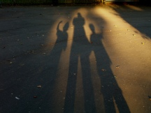 "image ""Three Shadows of Future Selves"" by J Mark Dodds via Flickr CC license"