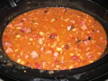 Ham and bean soup. Winter comfort food. Image by colleengreene via Flickr CC