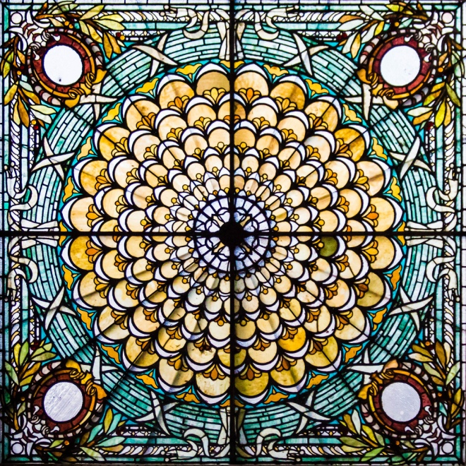 image by Bob Haines GSFC Photo Club via Flickr CC, stained glass Library of Congress in DC