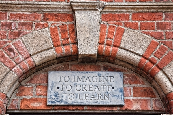 To Imagine. To Create. To Learn.