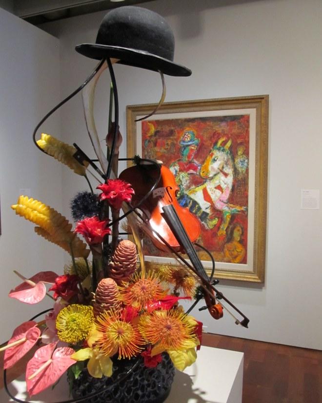 Image by The Tromp Queen, taken at Milwaukee Art Museum during 2014 Art in Bloom exhibit.