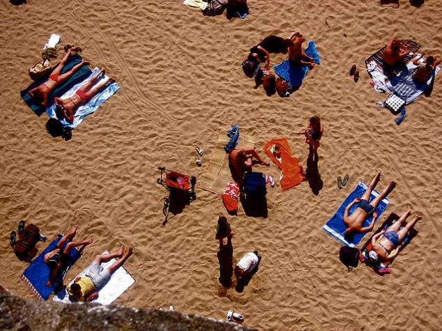 Getting Tan; image by Gabriel Jordy via Flickr CC