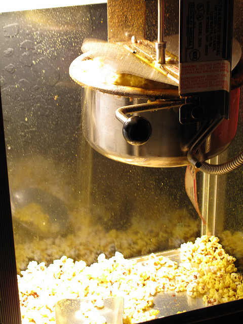 Popcorn Machine, by Adam Jackson via Flickr CC license