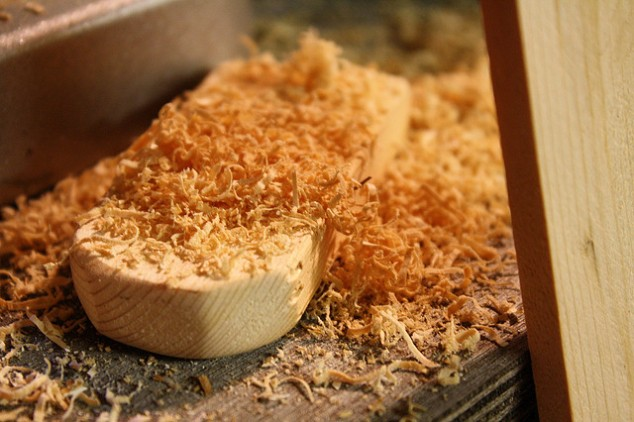 """Sawdust"" by Jen R, via Flickr CC license"