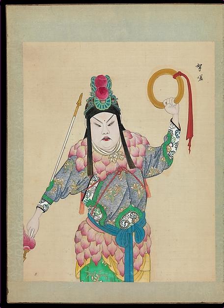100 Peking OperaPortraits