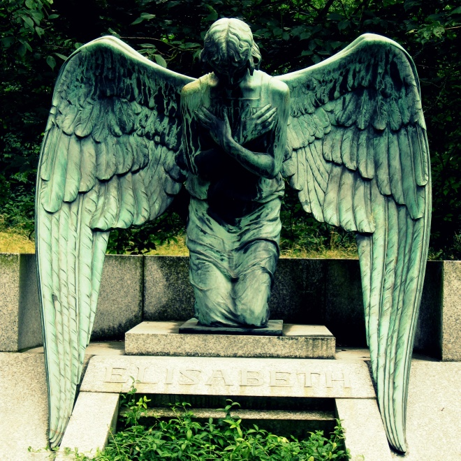 All things pass away. Mourning  Angel--Image by The Tromp Queen, CC license