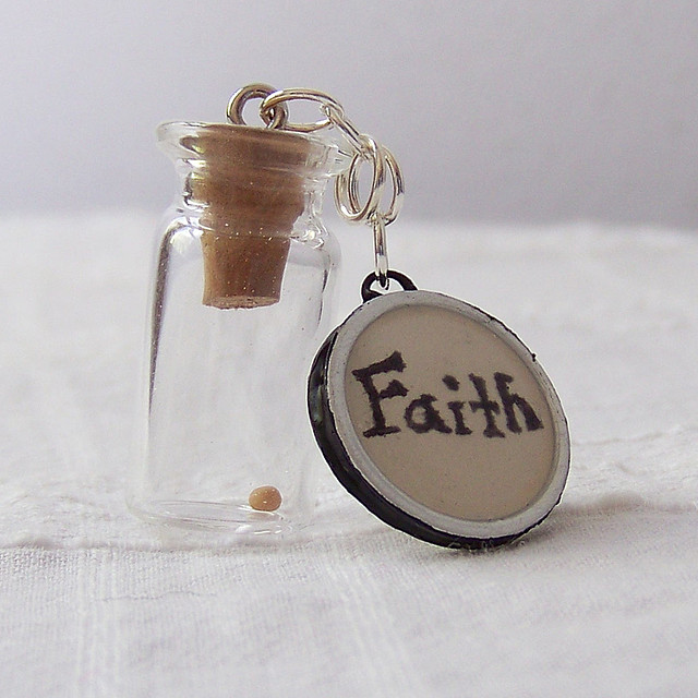 Faith as a Mustard Seed: Image by Juliane Bjerregaard via Flickr CC license.