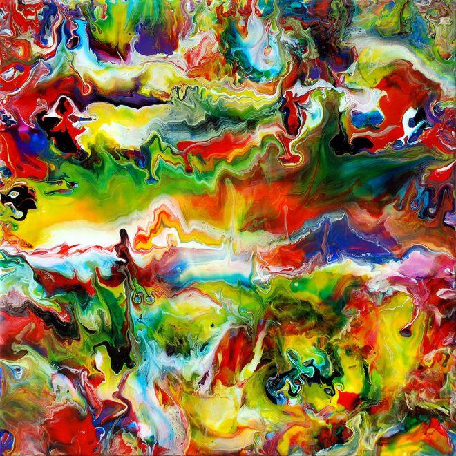 Mark Chadwick Fluid Painting 92