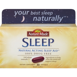 "Nature Made ""Sleep"" (sleep aid)"