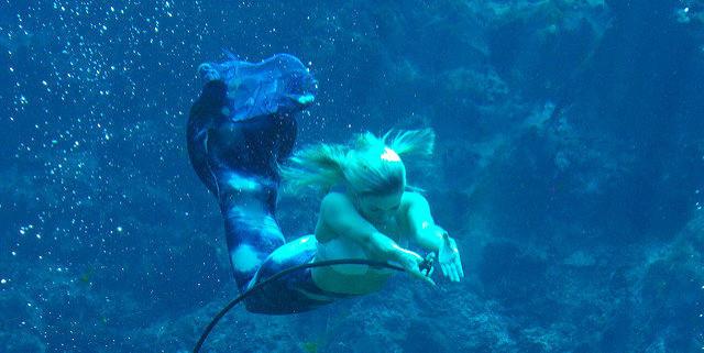 Mermaid image by George via Flickr CC license